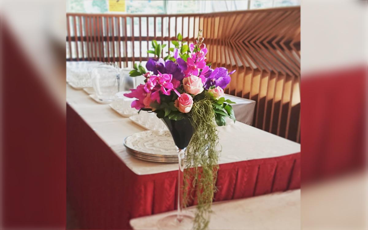 ブッフェ装花2